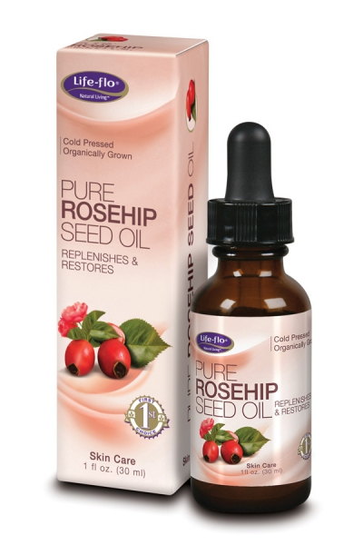 Life Flo Organic Rosehip Seed Oil(cold pressed) 30ml