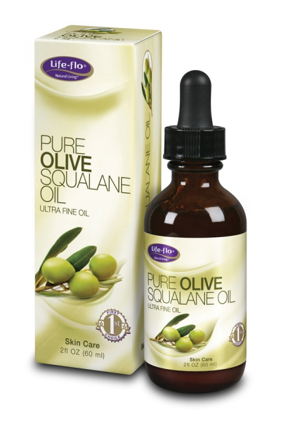 Life Flo Pure Olive Squalane Oil 60ml- Dry skin repairing