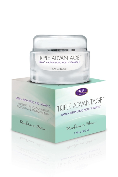 Life Flo Triple Advantage Cream w/DMAE, Alpha Lipoic Acid & Vit C Cream, Cucumber