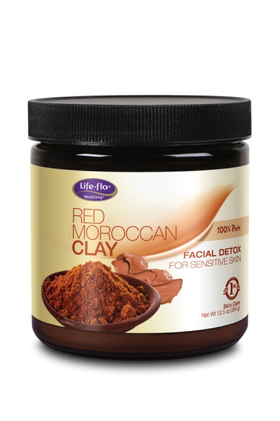 Life Flo 100% Pure Red Moroccan Clay 370ml