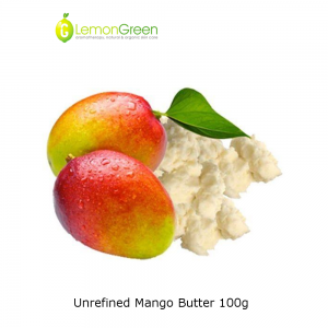 Maple Organics 100% Pure Unrefined Mango Butter 100g