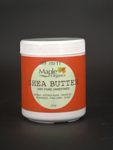 100% Pure  Raw Unrefined Shea Butter 250g