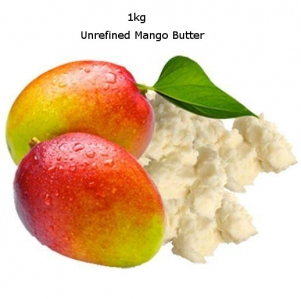 Maple Organic 100 Pure Unrefined Mango Butter 1Kg